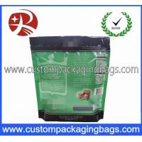 Buy cheap Green Heat Seal Aluminium Stand Up Pouches With Degassing Valve from wholesalers