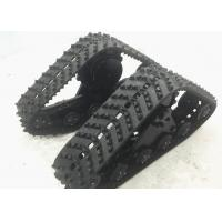 Buy cheap New Mechanical Horse Rubber Track System 255series,648mm Height,1305mm Length from wholesalers