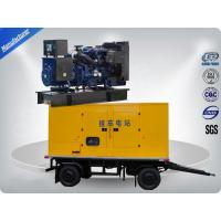 Buy cheap 80kw 100kva Trailer Mounted Silent Type Generator With Cummins Diesel Engine Low Fuel Consumption from wholesalers