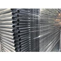 Buy cheap Standard AS/NZS temporary Fencing Panels OD 32mm outer tube wall thick 2.00mm Easy Fencing 42 microns from wholesalers