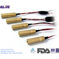 Buy cheap Customized 532nm 20mw Green Dot Laser Module for Laser Position, Surveying&Medical Device from wholesalers