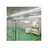 Buy cheap Aluminum Profile Mobile FFU Soft Wall Cleanroom PVC Anti Static Curtain product