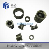 Buy cheap Customized Half moon tungsten carbide wire guide roller with different type from wholesalers