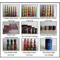 China Bottled Aquarium Fish food on sale