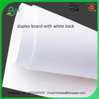 Buy cheap China factory direct sale 250gsm duplex board paper with white back product