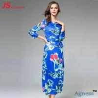 Buy cheap Classical Slim Fit Long Sleeve Cocktail Dresses With Nine Points Sleeve from wholesalers
