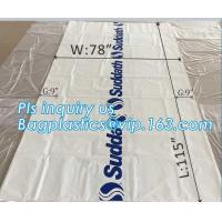 Buy cheap pe bag pallet cover plastic bag sqaure bottom bag, 54 x 44 x 96 1 Mil ldpe Clear Pallet Covers, top covers clear plasti from wholesalers