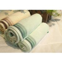 Buy cheap hotel towel bamboo fiber solid color boxed towel gift set from wholesalers