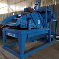 China Gravel Sand Recycling System , Sand Collecting System 20 Kw Solid Waste Collector on sale