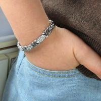 Buy cheap China factory supply wholesale titanium charm magnetic bracelet,colorfull health jewelry from wholesalers