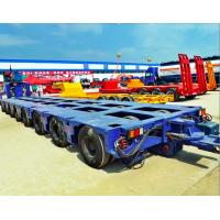 Buy cheap 100-300 tons Bridge Beam Transporting modular multi axle trailer, Multi Axle Low Bed Heavy Duty Semi Trailer from wholesalers