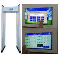 "Buy cheap 7"" LCD Touch Screen Walk Through Metal Detector with Remote Control product"