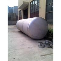 Buy cheap Mirror Polish Horizontal Pressure Vessel Tank Pressure Sealed Tank from wholesalers