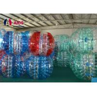 Buy cheap Inflatable Bumper Ball Crochet Bubble Suit Soccer Bubble Suit Pattern For Baby from wholesalers