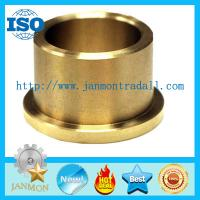 Buy cheap Oil Impregnated Bronze Bushings,Flanged type brass bush,Flange brass bushes,Flanged bush,Flange copper bush,Brass bushes from wholesalers