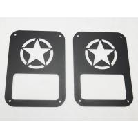 Buy cheap Star taillight cover for jeep wrangler taillamp cover auto parts car accessories product