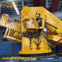 Buy cheap Professional Foldable Boom Offshore Marine Crane Sales Marine Ship Deck Crane from wholesalers