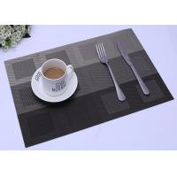 Buy cheap Non-slip eat mat insulation pad placemat quick-drying water environmental protection PVC texliene mat from wholesalers