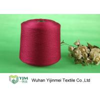 Quality High Tenacity Ring Spun Dyed Polyester Yarn , 100% Virgin Polyester Color Yarn for sale