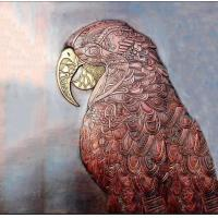 Buy cheap Eagle Copper Relief Sculpture , Metal Wall Sculpture For Public Art Decoration from wholesalers