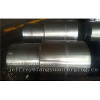 Buy cheap 42CrMo4 SCM440 AISI 4140 Alloy Steel Forged Shaft Blanks Quenching And Tempering Rough Machining from wholesalers