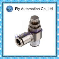 Buy cheap Nickel -plated metal control valve Pneumatic Tube Fittings SC series from wholesalers