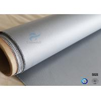 Buy cheap 260℃ Heat Resistant 160g Two Sides Coating 0.5mm Silicone Coated Fiberglass Fabric from wholesalers
