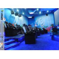 Buy cheap Customized 5D Movie Theater Ocean park 5D Motion Cinema Arc Screen Luxury Chairs  Movies product