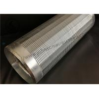 Buy cheap Johnson Wound Water Well Screen Low Carbon Steel Galvanized Material from wholesalers