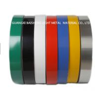 Buy cheap Color Coated Aluminum Strip Coil Double Coating 25 Micron Single Coating 18 Micron from wholesalers