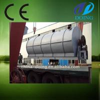 Buy cheap SGS,CE,ISO certificate of used tire pyrolysis machine from wholesalers