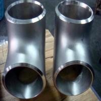 Buy cheap High Pressure Pipeline Stainless Steel Buttweld Fittings A403 - WP304L Bevel Ends from wholesalers