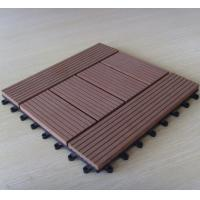 Buy cheap Outdoor Waterproof WPC DIY Tile for Balcony Flooring Decking from wholesalers