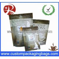Buy cheap Heat Sealing Food Grade Bags Top Ziplock With Bottom Gusset from wholesalers