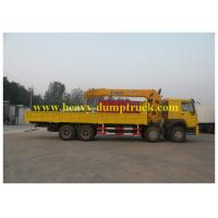 Buy cheap 30T 8X4 Chassis Hydraulic Truck Cranes 10.5m Max Euro 2 Emission Standard from wholesalers