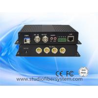Buy cheap 3g/hd sdi fiber multiplexer with bidi rca audio&rs422&10/100M ethernet from wholesalers