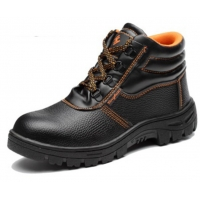 Quality Petroleum Chemical Electricity Anti Smashing Anti Puncture safety Shoes Worker Protective Shoes for sale