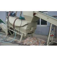 Buy cheap Belt Conveyor Plastic Recycling Machines , Label Remover PET Bottle Grinder Machine from wholesalers