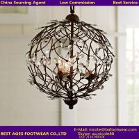 Buy cheap modern iron lighting from China agent from wholesalers