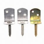 Buy cheap Galvanized Steel Corner Braces/Metal Wood Connectors/Screw Brackets from wholesalers