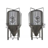 Buy cheap Restaurant Alcohol Conical Beer Stainless Steel Fermenter Micro Brewing Equipment from wholesalers