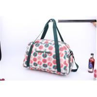 Buy cheap New style light weigh weekender bag with beautiful flower printing product