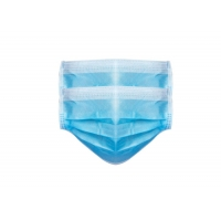 Quality 3 Ply Non Woven Food Industry Disposable Earloop Face Mask for sale