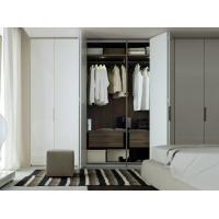 Buy cheap wooden color wardrobe foshan modern clothes good price multifunction wardrobe product