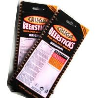 Buy cheap south Africa Chilli biltong stand up bags with zipper with Euro slot and tear notch from wholesalers