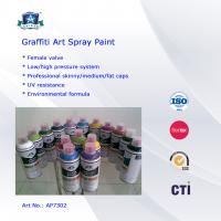 Multi Colors 400ml Art Graffiti Spray Paint For Wall / House Decoration