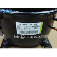 Buy cheap 1/3HP Embraco Aspera Compressor FFI 12HBK , Refrigeration compressor embraco r134A from wholesalers