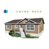 Buy cheap Three Bedrooms Energy Efficient Prefab Homes / Prefab Modular House 130 Square Meters from wholesalers
