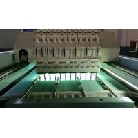 Buy cheap 5KW Horizontal Quilting Embroidery Machine Single Head Integral Steel Structure from wholesalers