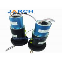 Buy cheap FCC UL Listed 2A / 15A Hybrid Slip Rings / Rotary Electrical Joint , Max Speed 30RPM from wholesalers